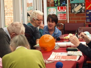 Activity Room for Residents at Bramhall Residential Home