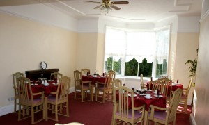 Dining Room at Bramhall Residential Home Tattershall